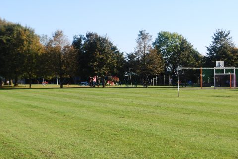 Hailey football pitch