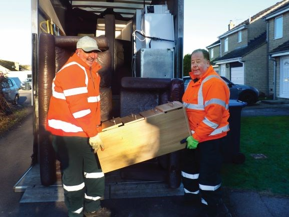 Bulky waste collections   reinstated, Hailey Parish Council