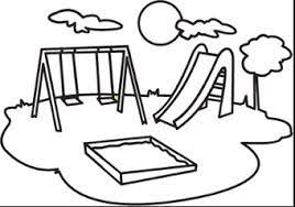 playground clip art black and white - Google Search | Clip art ...